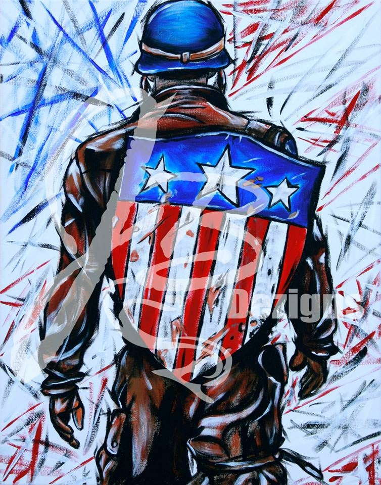 """Image of """"The Solider"""" Print"""