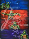 """""""The Four Turtles of The Shellpocalypse"""" PRINT"""