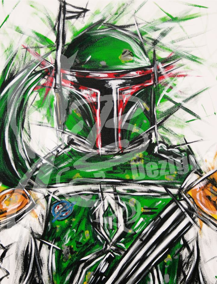 "Image of ""The Bounty Hunter"" Print"