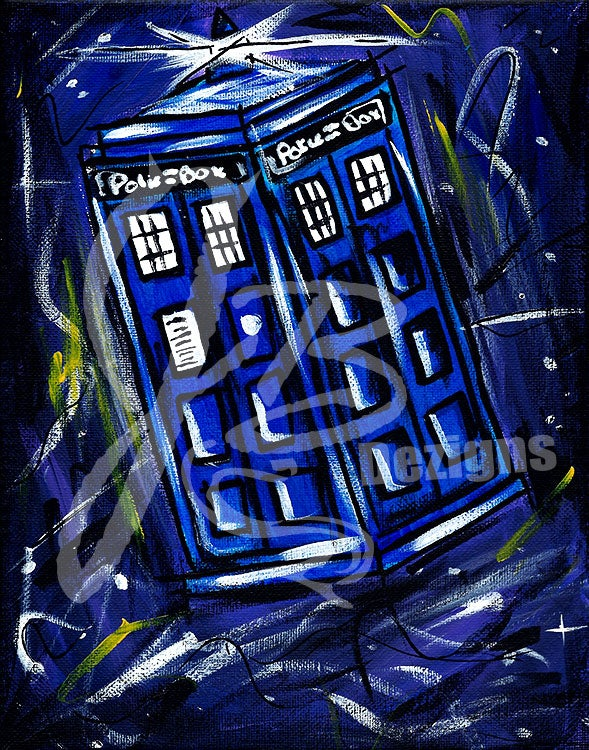 "Image of ""A Police Box?"" Print"