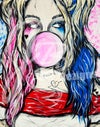 """Bubble Trouble Harley"" Print"