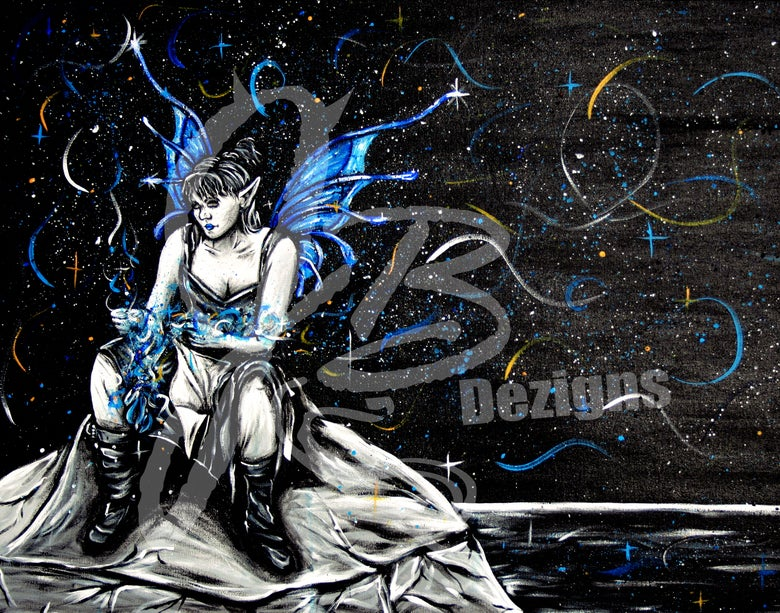 "Image of ""Fairy Blues"" Print"