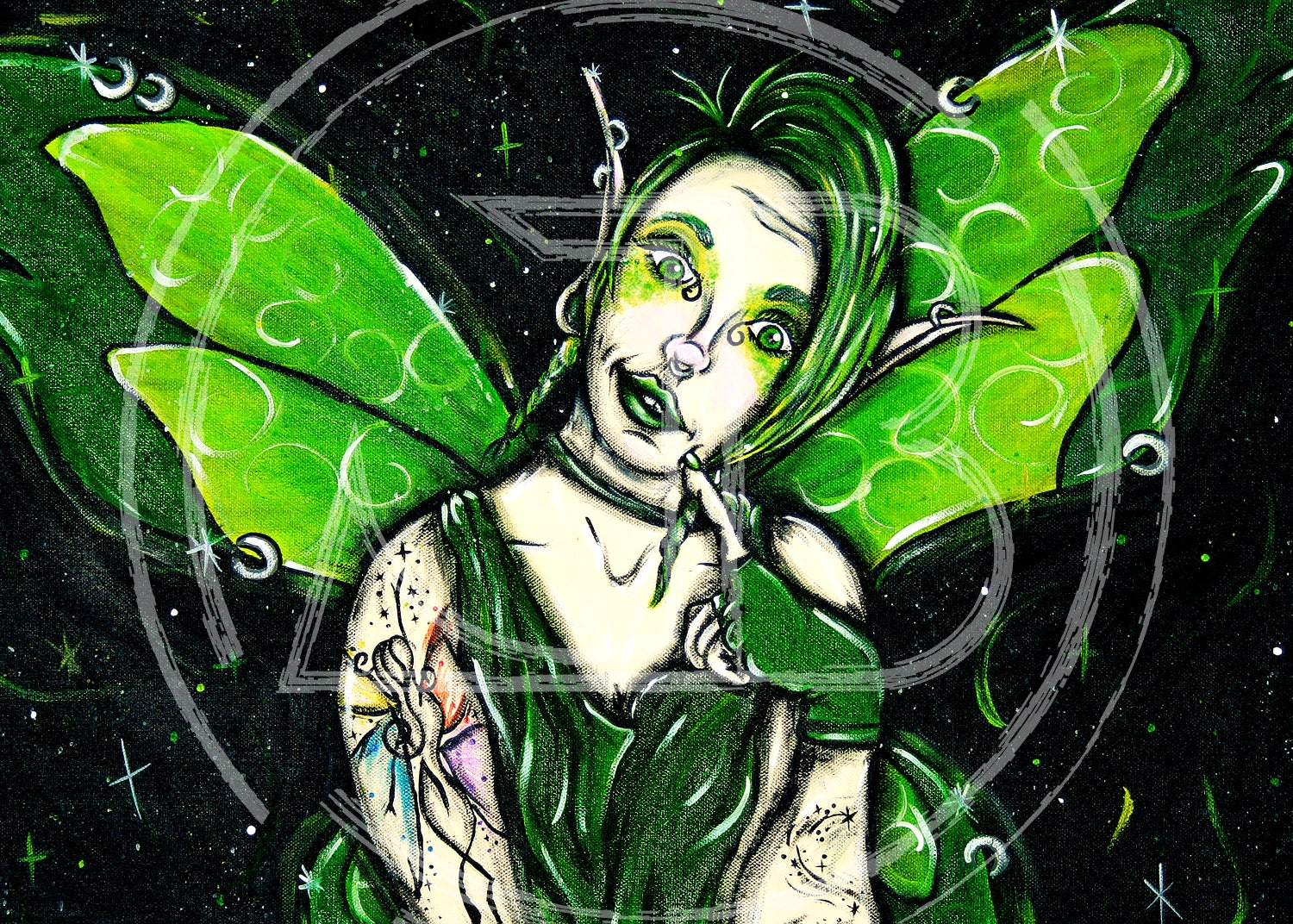 "Image of ""Punk Fairy"" Print"