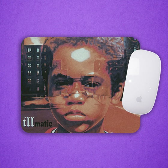 "Image of Nas ""Illmatic"" Mouse Pad"