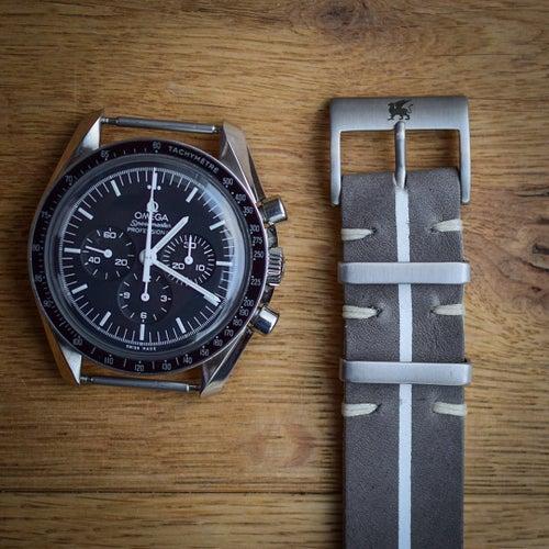 Image of Rugged 'GT' Leather NATO