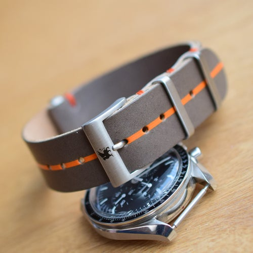 Image of Rugged 'ULTRA' Leather NATO