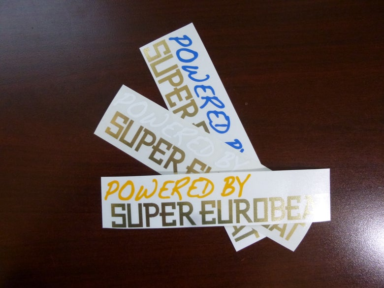 Image of Powered by SUPER EUROBEAT