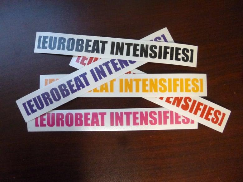 Image of [EUROBEAT INTENSIFIES]