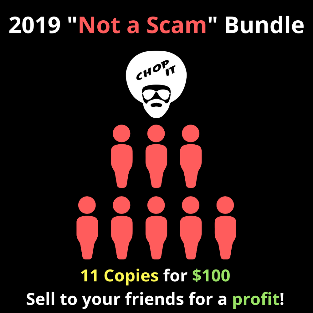 "Image of Chop It ""Not a Scam"" Bundle"