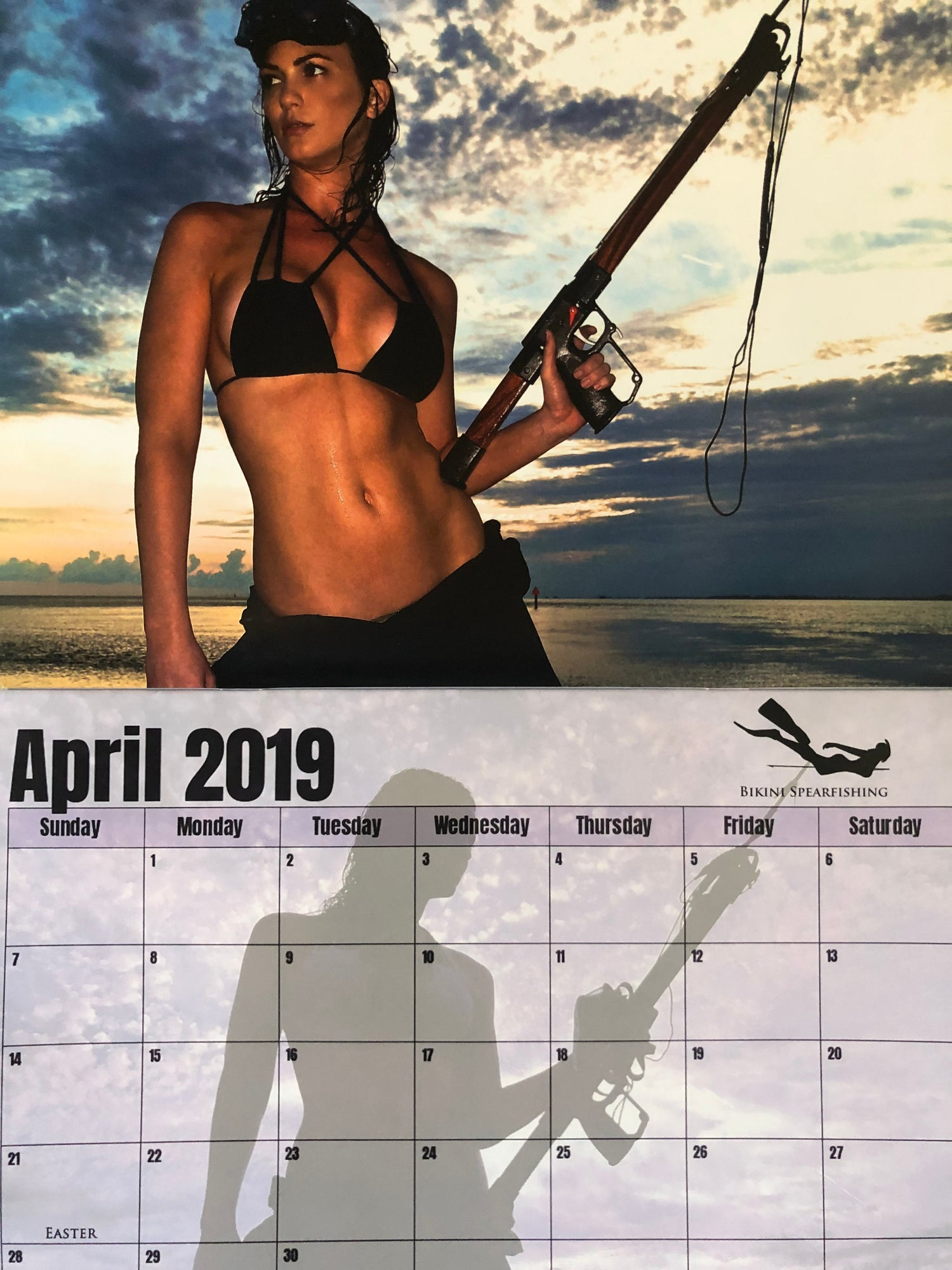 Image of Signed && Personlized 2019 Spearfishig Calendar