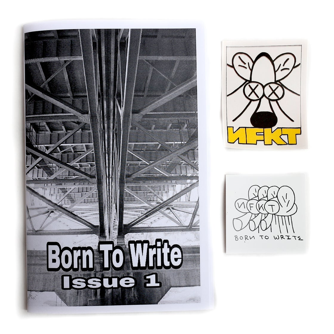 Image of BORN TO WRITE #1 - NFKT