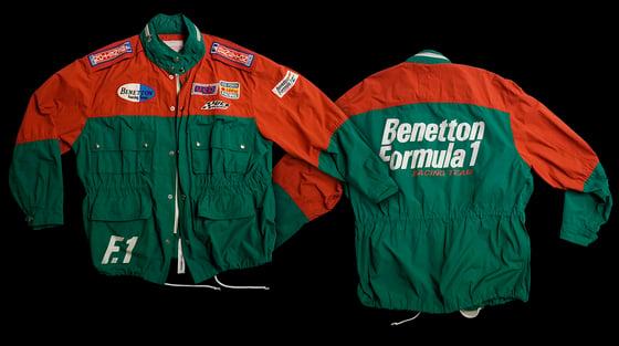 Image of Vintage Benetton F1 Jacket