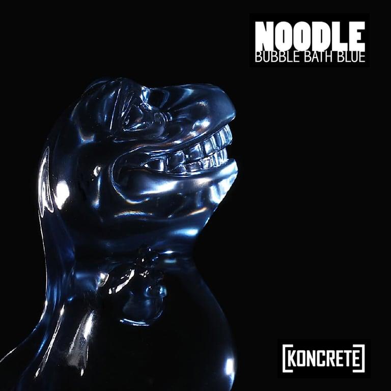 Image of Noodle [bubble bath blue]