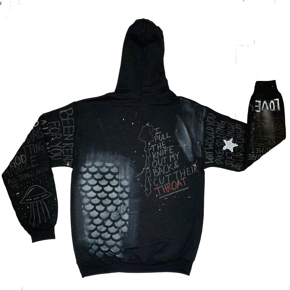 "Image of Bad Ending ""Lights Out"" Hoodie"