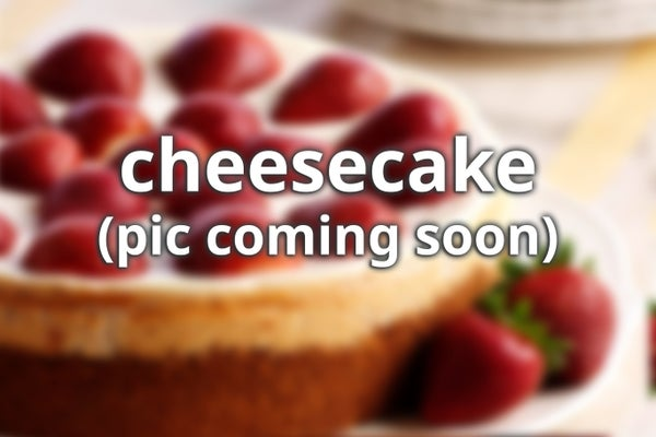 Image of Cheesecake