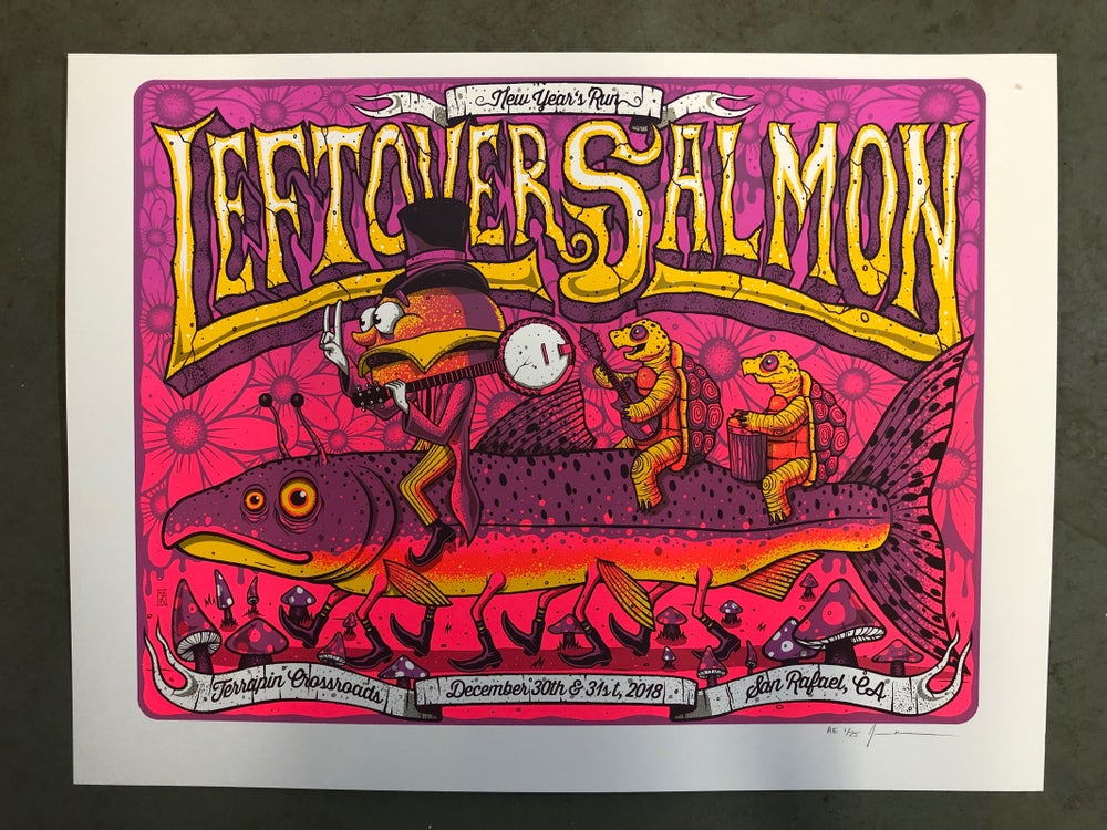 Image of Leftover Salmon - NYE Run 2018 - Terrapin Crossroads - Artist Edition  -