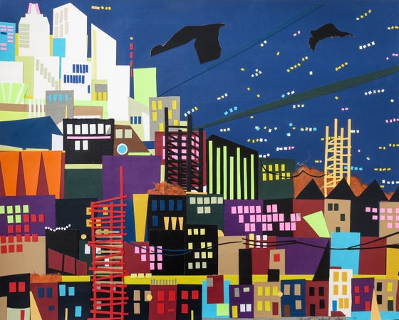 Image of Evening Cityscape, Limited Edition prints