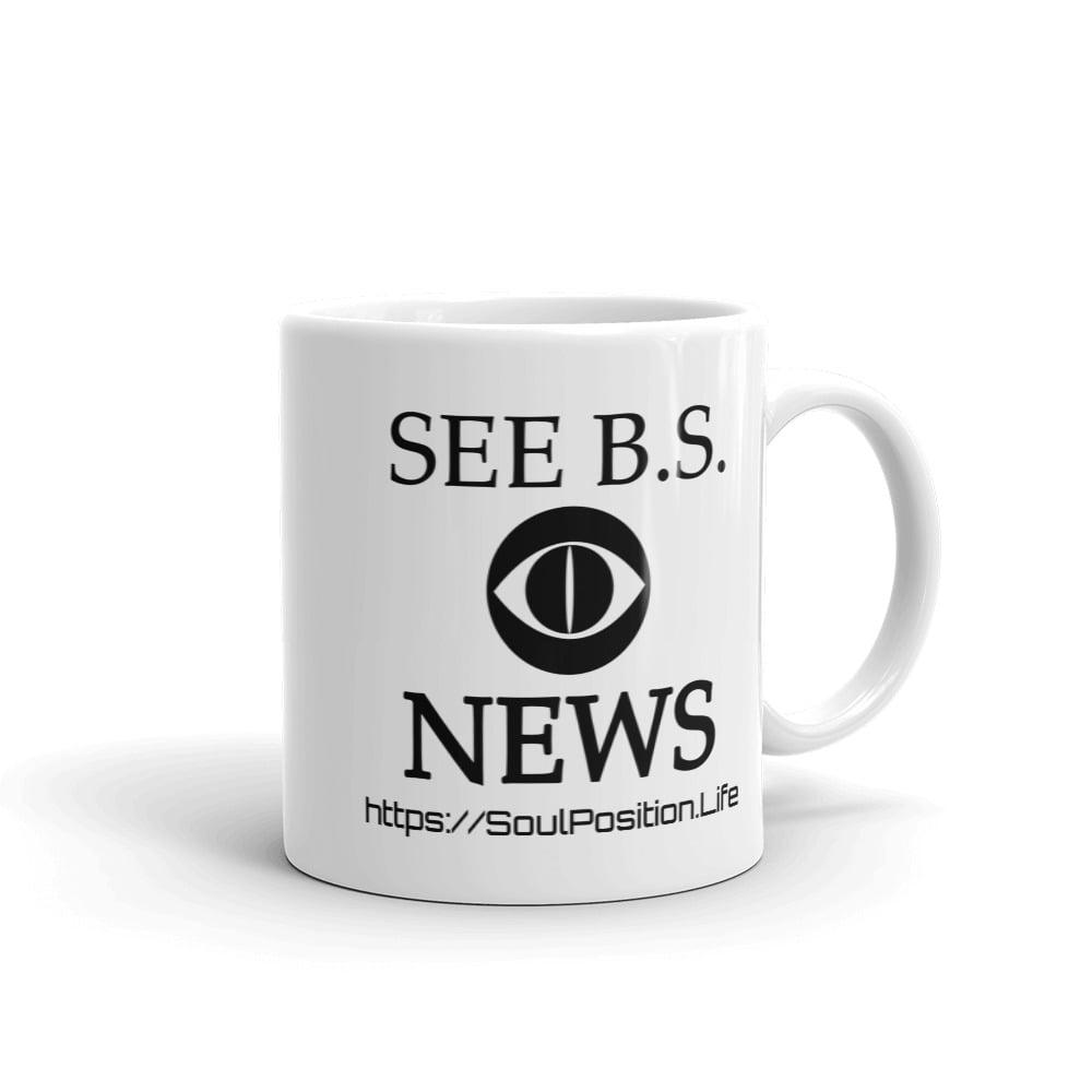 Image of See B.S. News Mug
