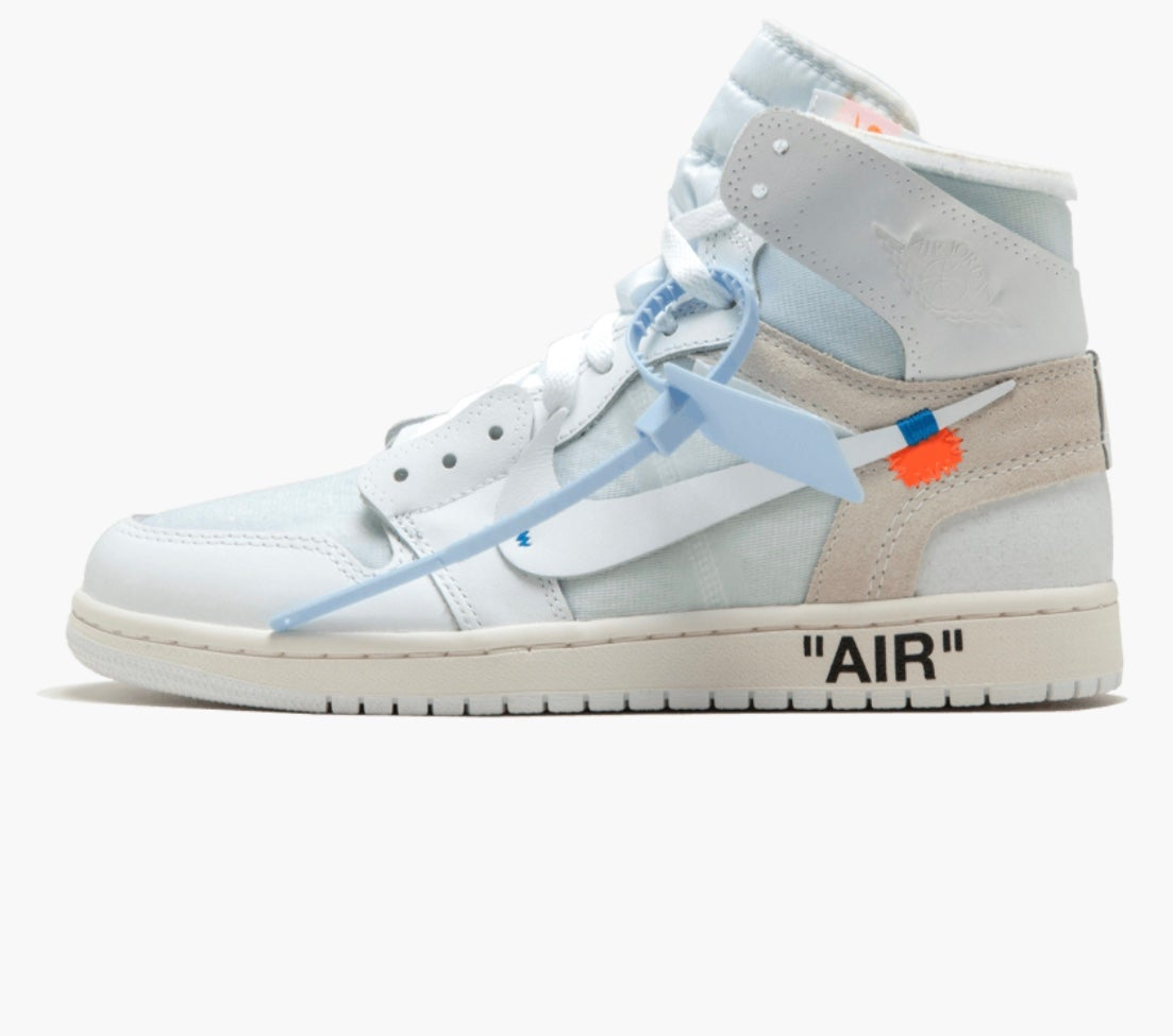 ee91082f577b Image of OFF-WHITE x Air Jordan 1 Retro High OG  White  2018