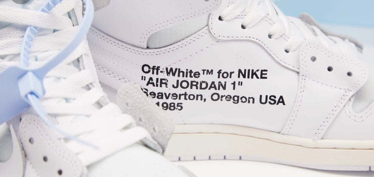 OFF-WHITE x Air Jordan 1 Retro High OG 'White' 2018