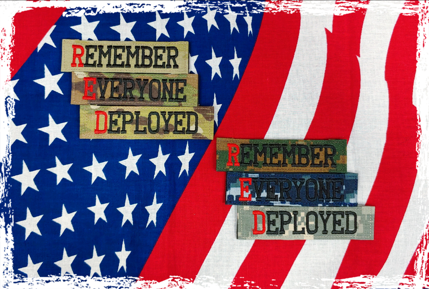 Remember Everyone Deployed Name Tapes
