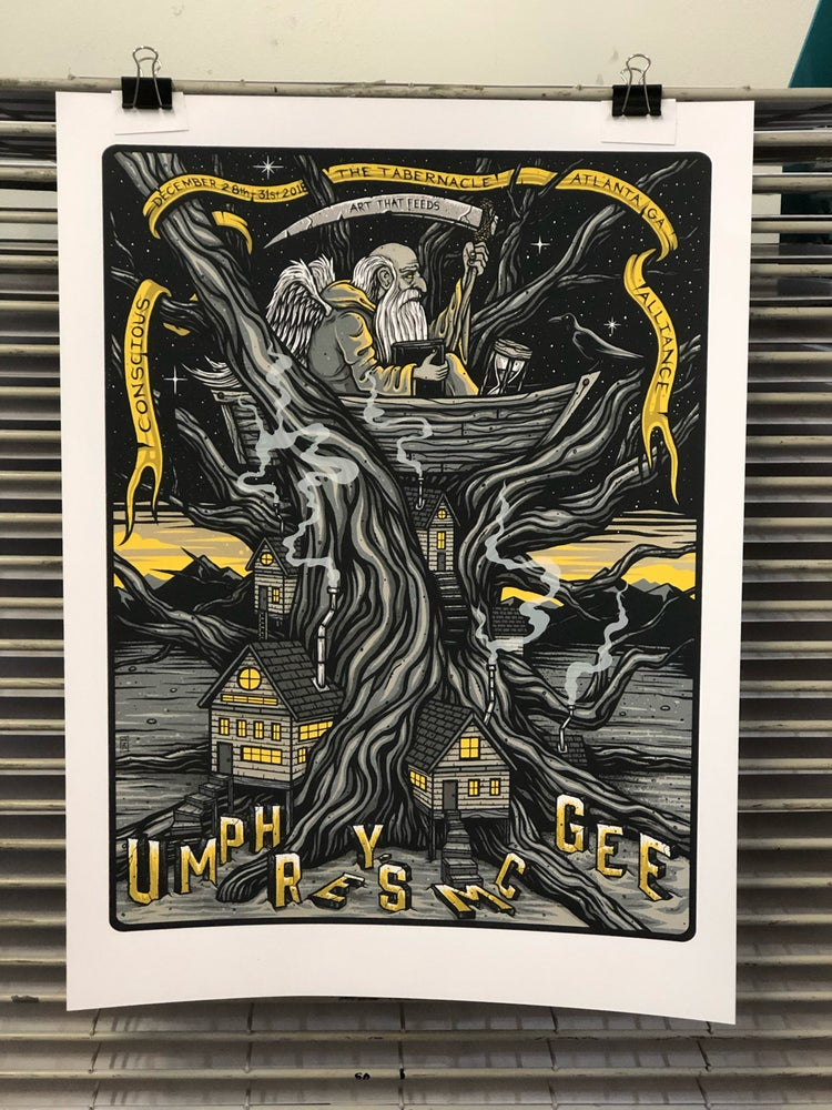 Image of Umphrey's McGee x CA - NYE Run - The Tabernacle - Artist Edition
