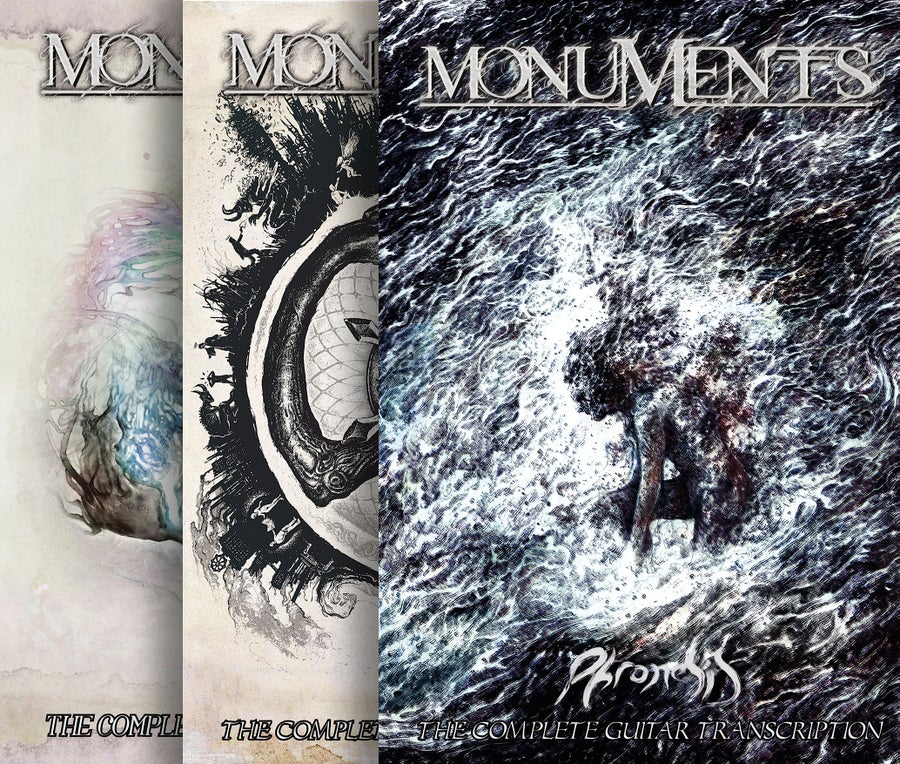 Image of *NEW* GUITAR TABS - ALL MONUMENTS ALBUMS - DIGITAL DOWNLOAD