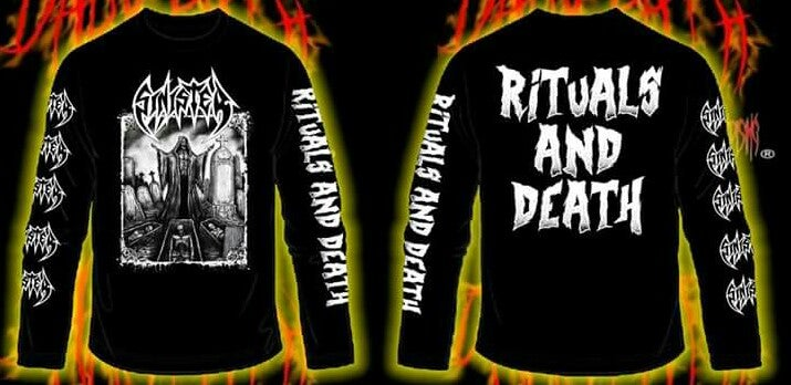 Image of SINISTER - Rituals And Death SS & LS