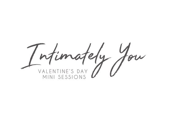 Image of Intimately You - Valentine's Day Mini Sessions