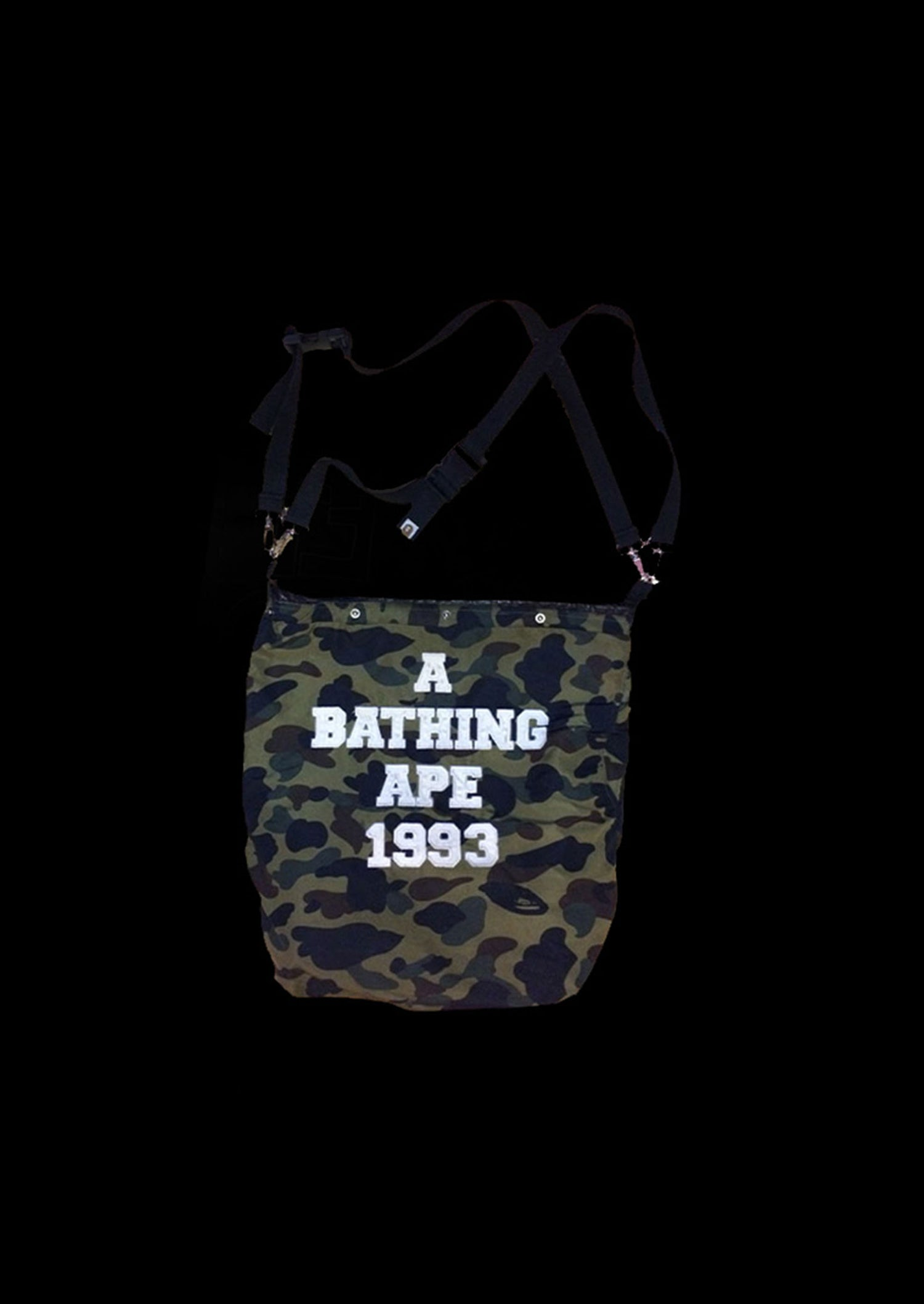Image of BAG STRAPS CAMO