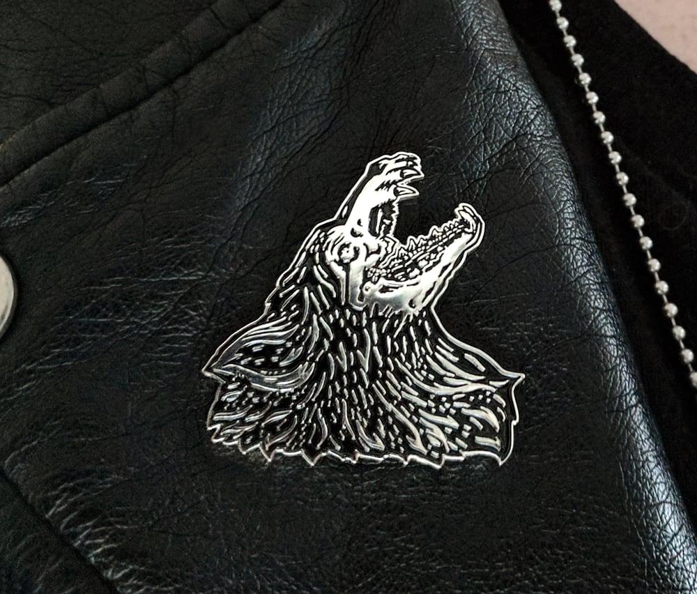 Image of Moonhound Enamel Pin