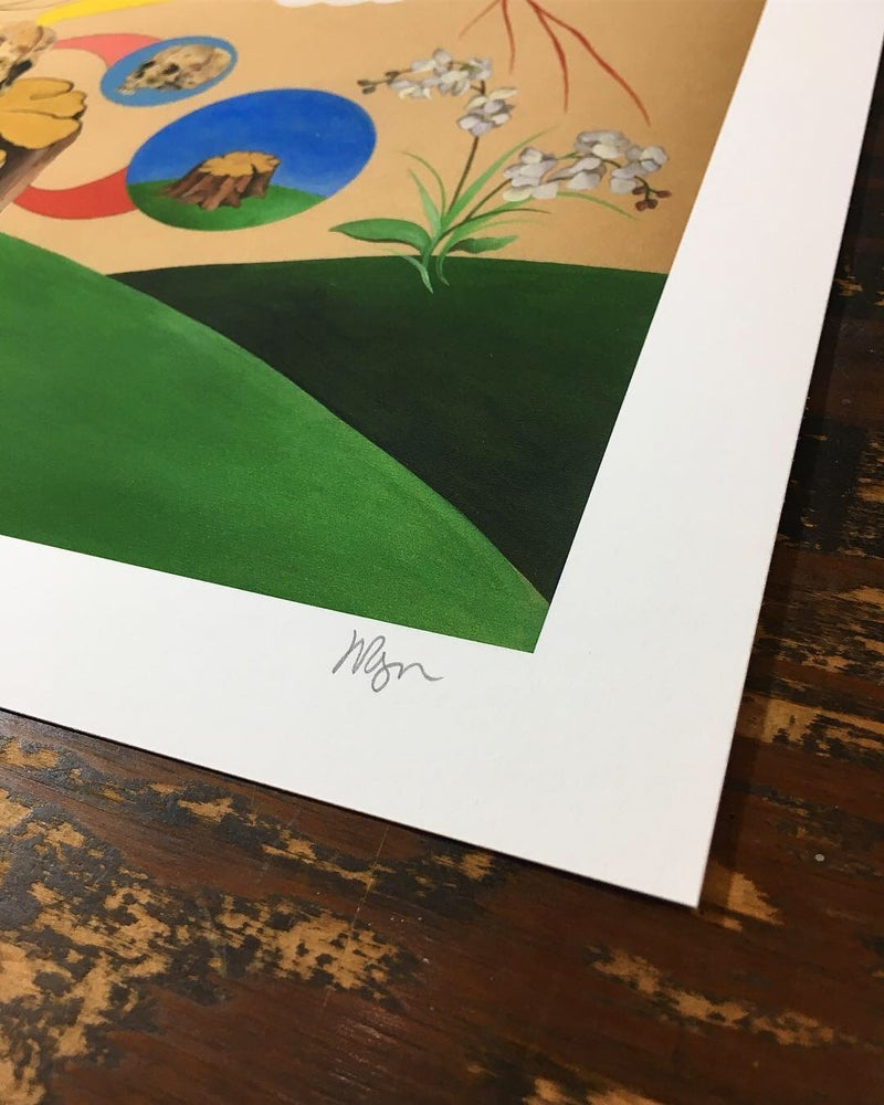 Image of INTO THE MOUNTAIN PRINT II