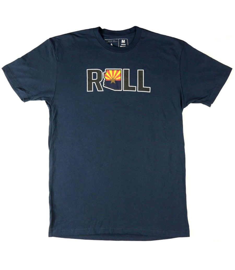 "Image of AGGRO Brand ""Roll AZ"" Shirt (Adult & Youth)"