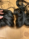 13*4 raw Indian Straight Lace frontal