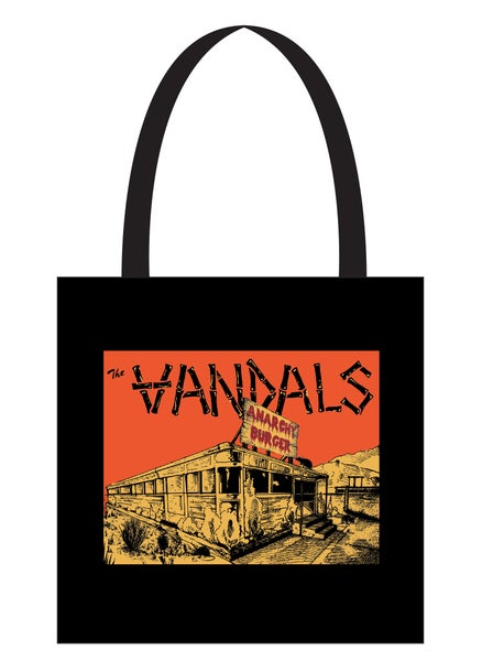 Image of Anarchy Burger Tote Bag