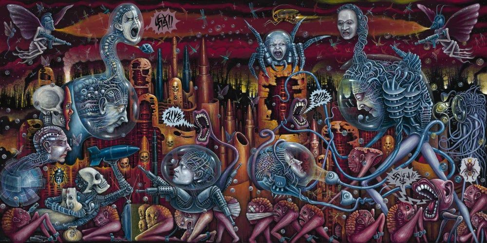 Image of ANTAGONY ~ Special 22 x 44 inch Signed Limited Edition (NEW)
