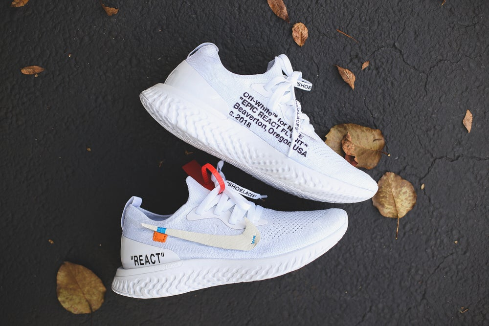 Image of Nike React Off-White inspired