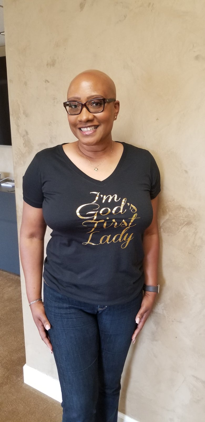 Image of I'm God's First Lady (new tee)