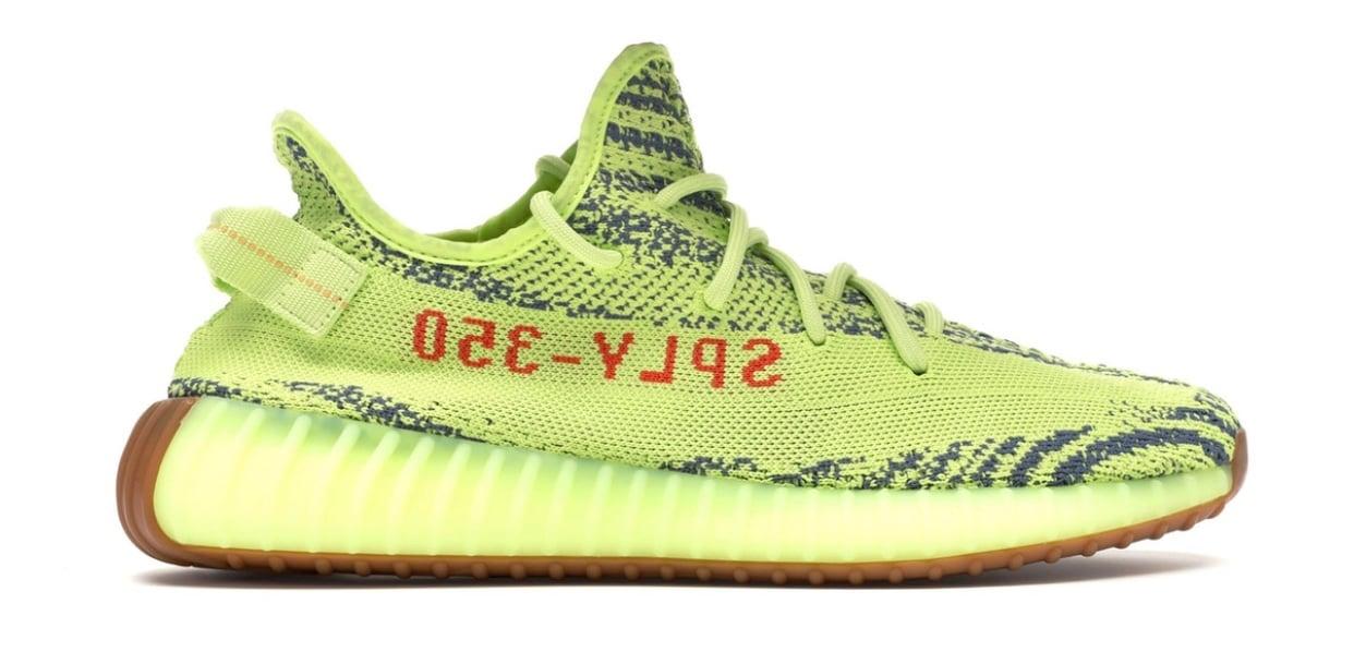 Image of Yeezy Boost 350 V2  Semi Frozen Yellow  d7861ef29