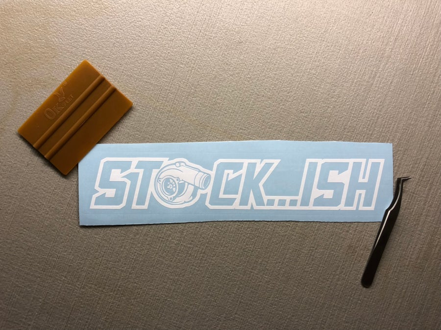"""Image of 10"""" STOCK...ISH decal"""