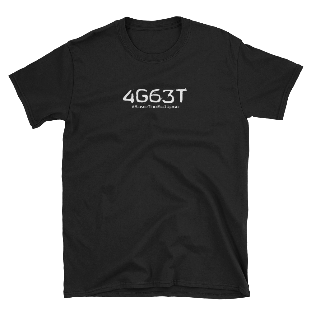 Image of 4G63T | #SaveTheEclipse | BLACK