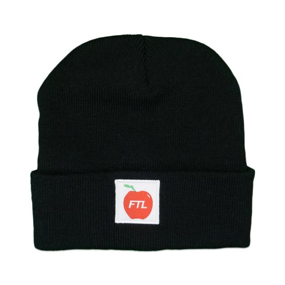 Image of Apple Beanie (Black)
