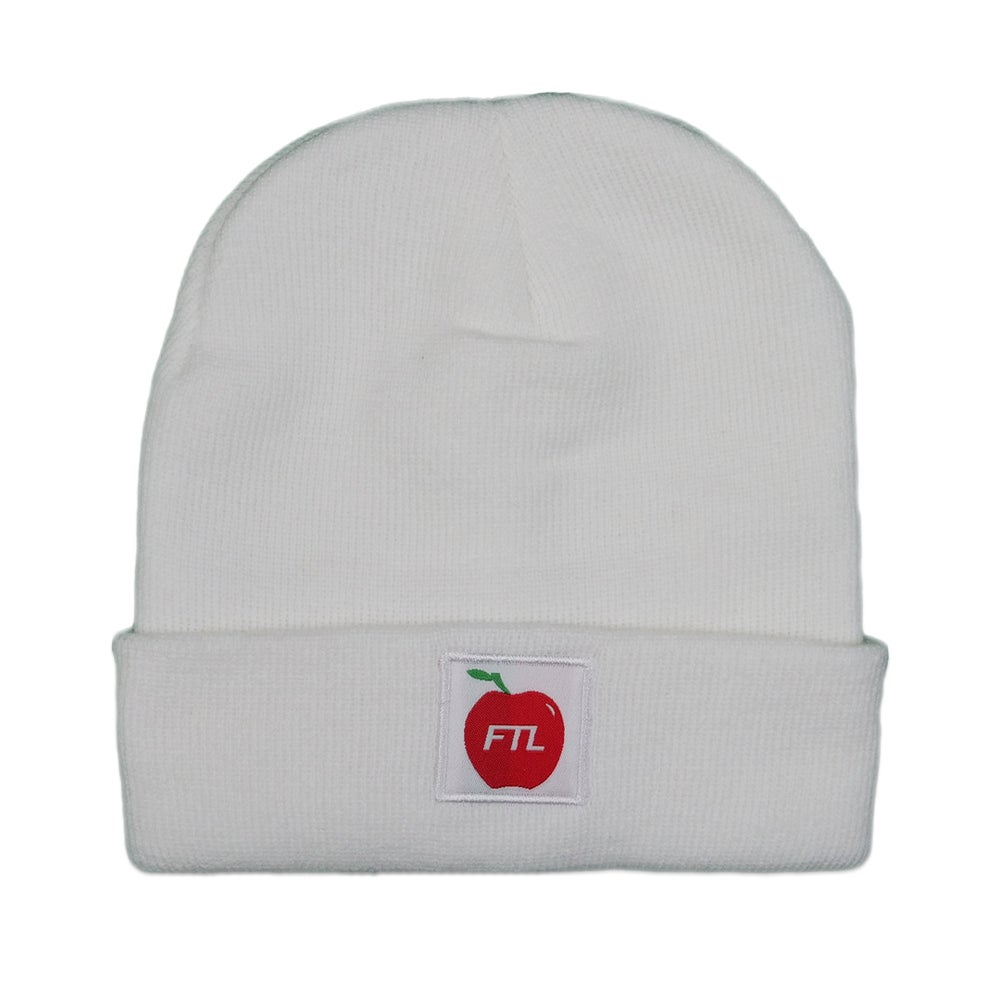 Image of Apple Beanie (White)