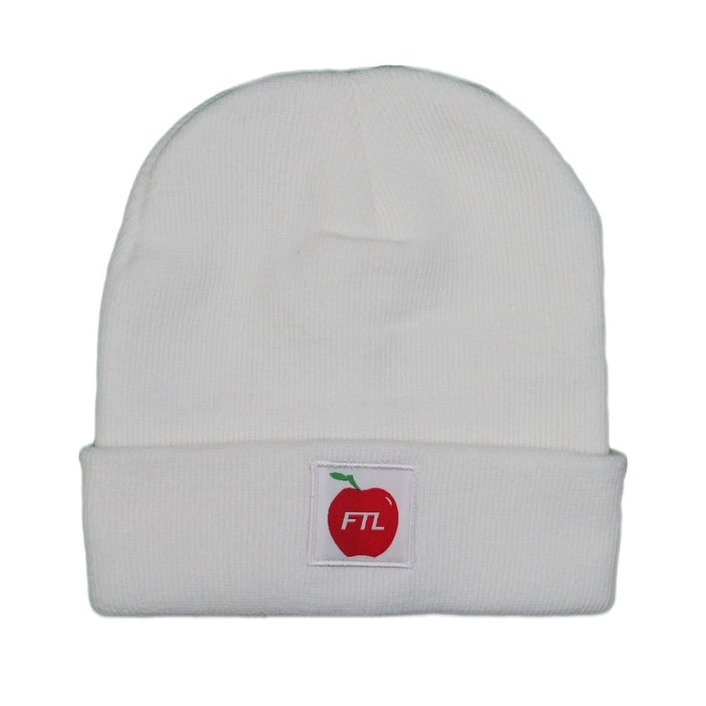 Image of Apple Beanie (White)
