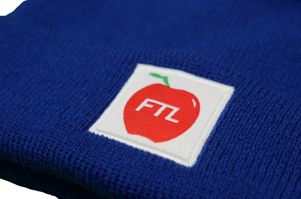 Image of Apple Beanie (Navy)