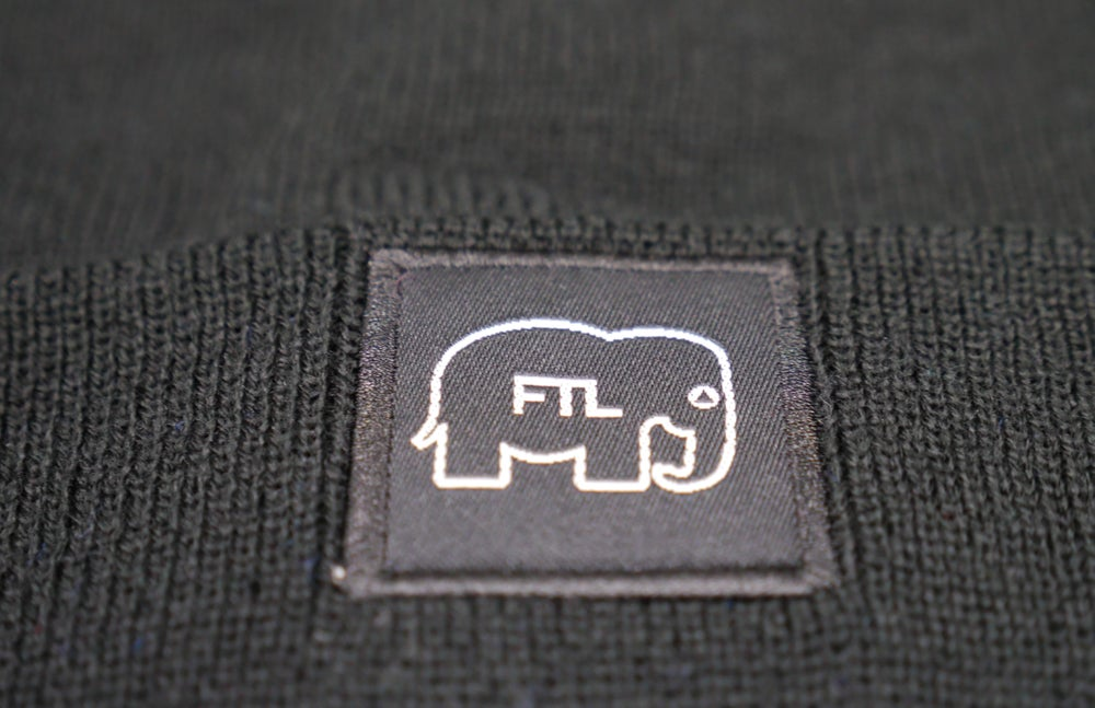Image of Elephant Beanie (Black)