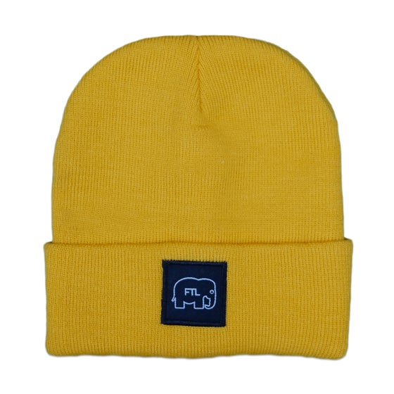 Image of Elephant Beanie (Gold)