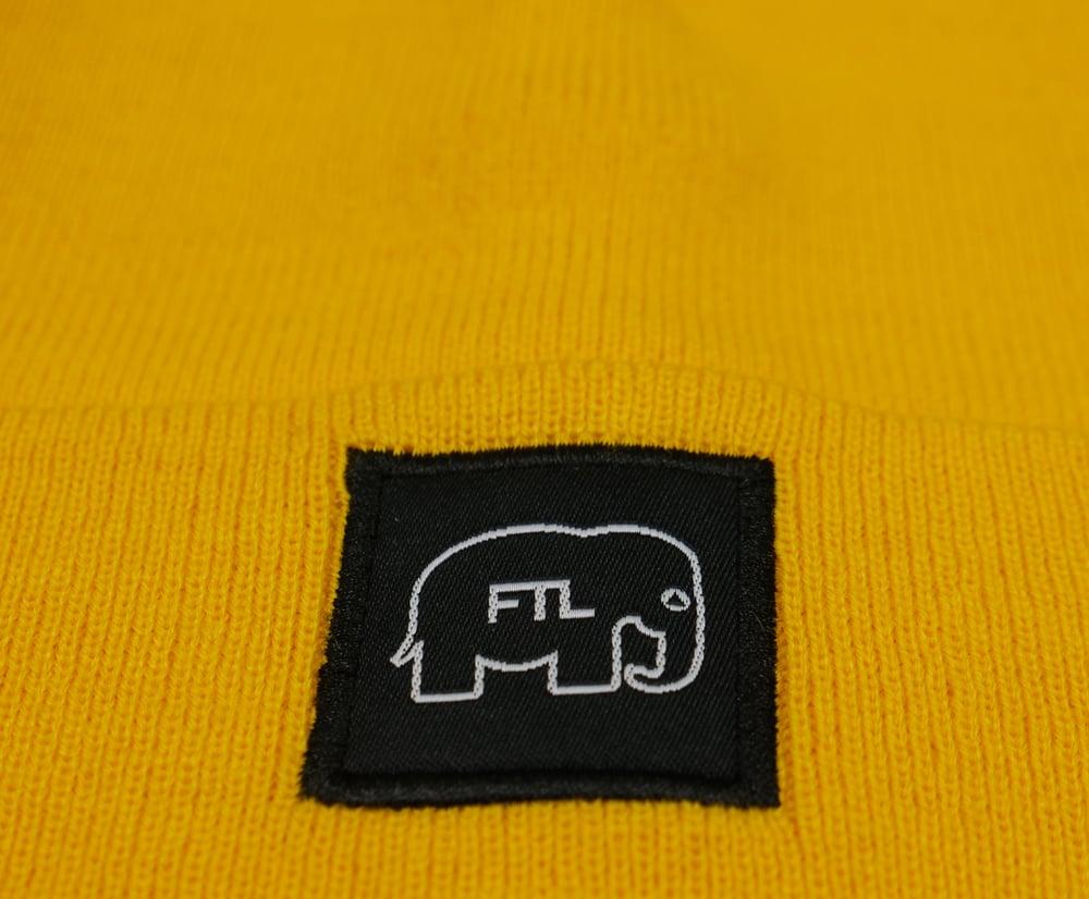Image of Elephant Beanie (Gold)