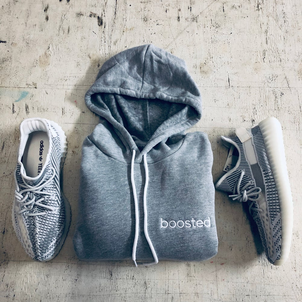 Image of BOOSTED EMBROIDERY HOODY