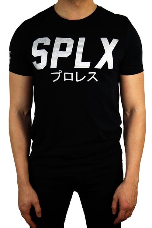 Image of SPLX Metallic Silver Logo T-Shirt